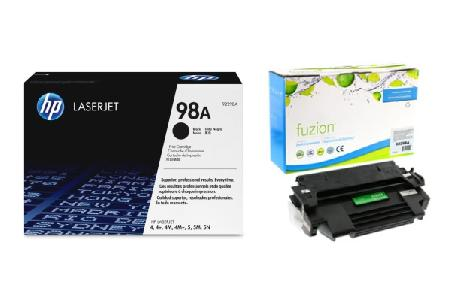 Toners and drums - Hewlett Packard: - INK & TONER