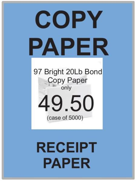 FEATURED ITEM    COPY PAPER
