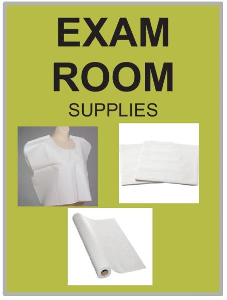 FEATURED ITEM  EXAM ROOM SUPPLIES
