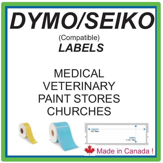 DYMO /SEIKO COMPATIBLE LABELS